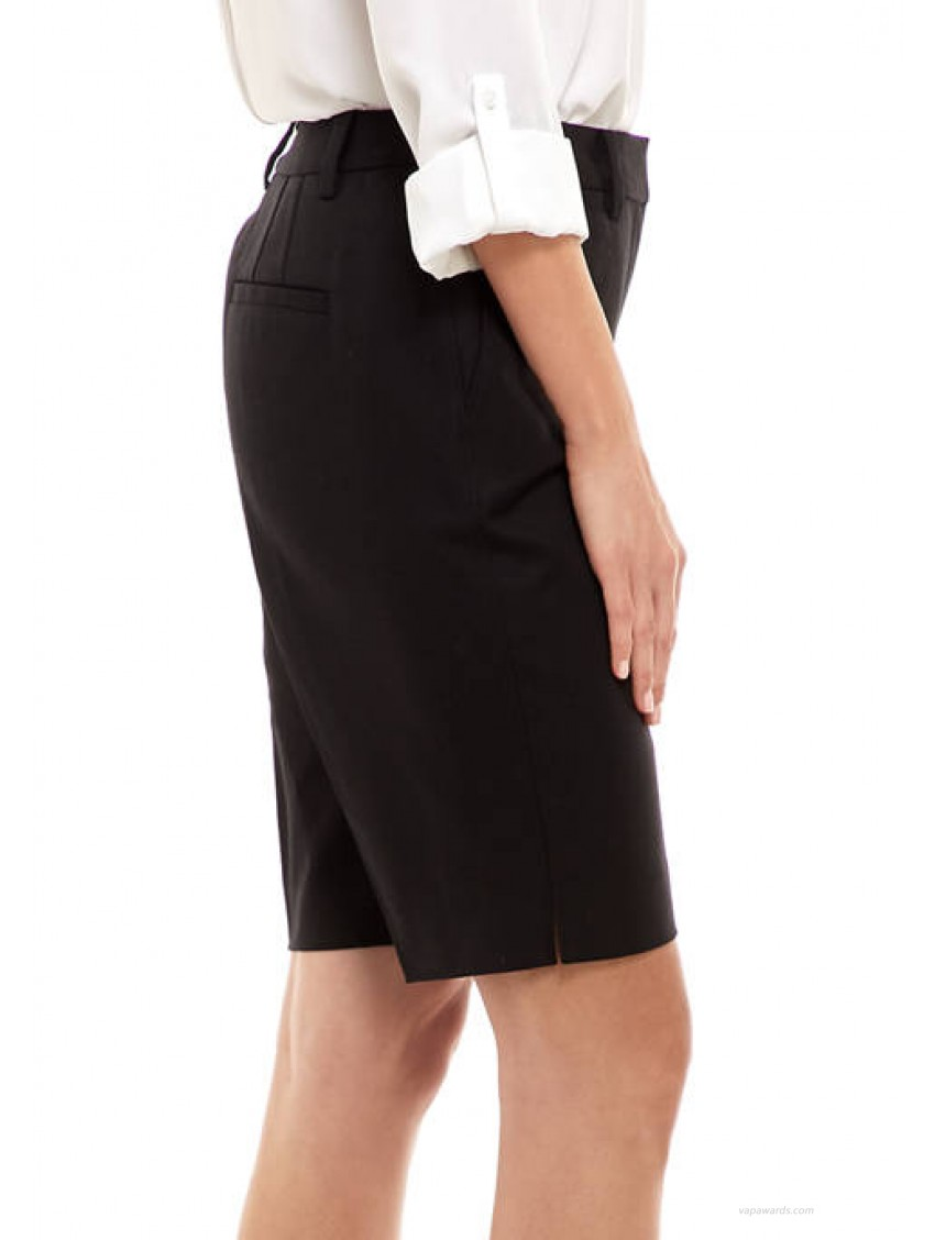 THE LIMITED Women's Polished 11 Inch Bermuda Shorts